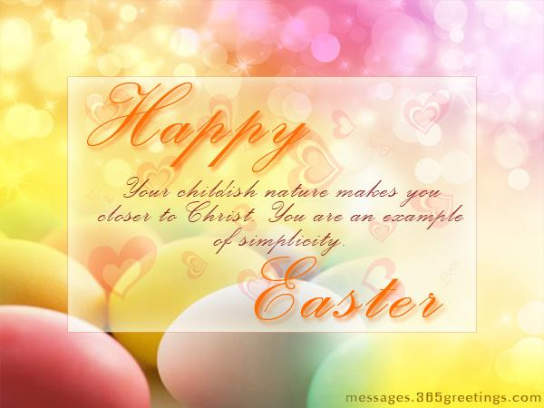 Easter Greetings Happy Easter Greetings Cards Wishes Ecards and – Easter Greeting Card Messages
