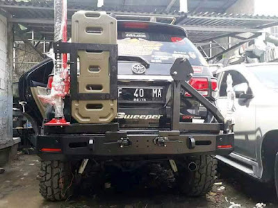 Toyota Fortuner VNT Turbo modif offroad