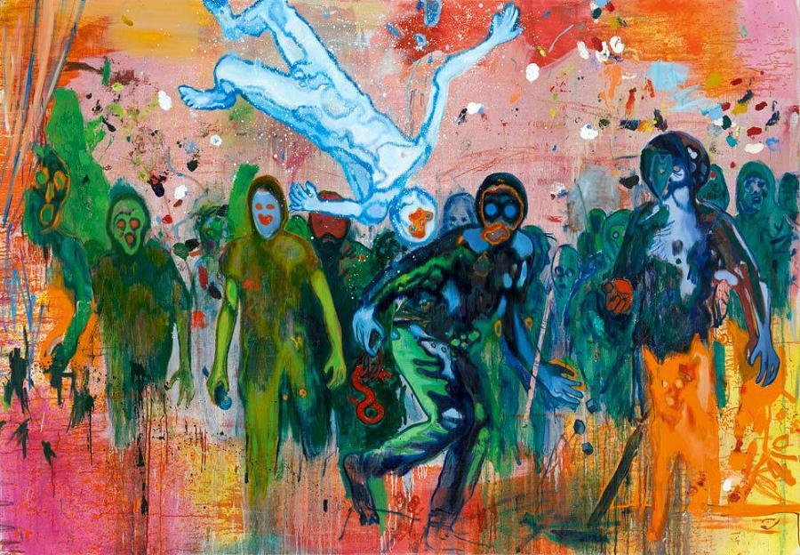 Pinturas de Daniel Richter