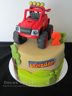 cake Blaze and the Monster Machines