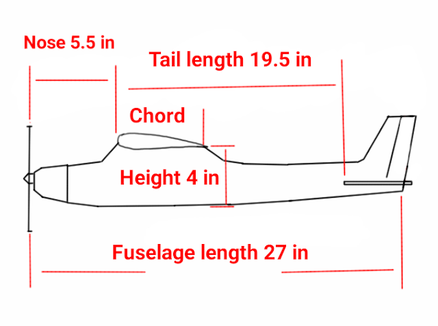 Picture of Fuselage Measurements