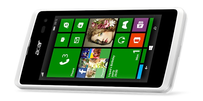 Acer Liquid M220 announced, an entry-level Windows Phone 8.1 smartphone