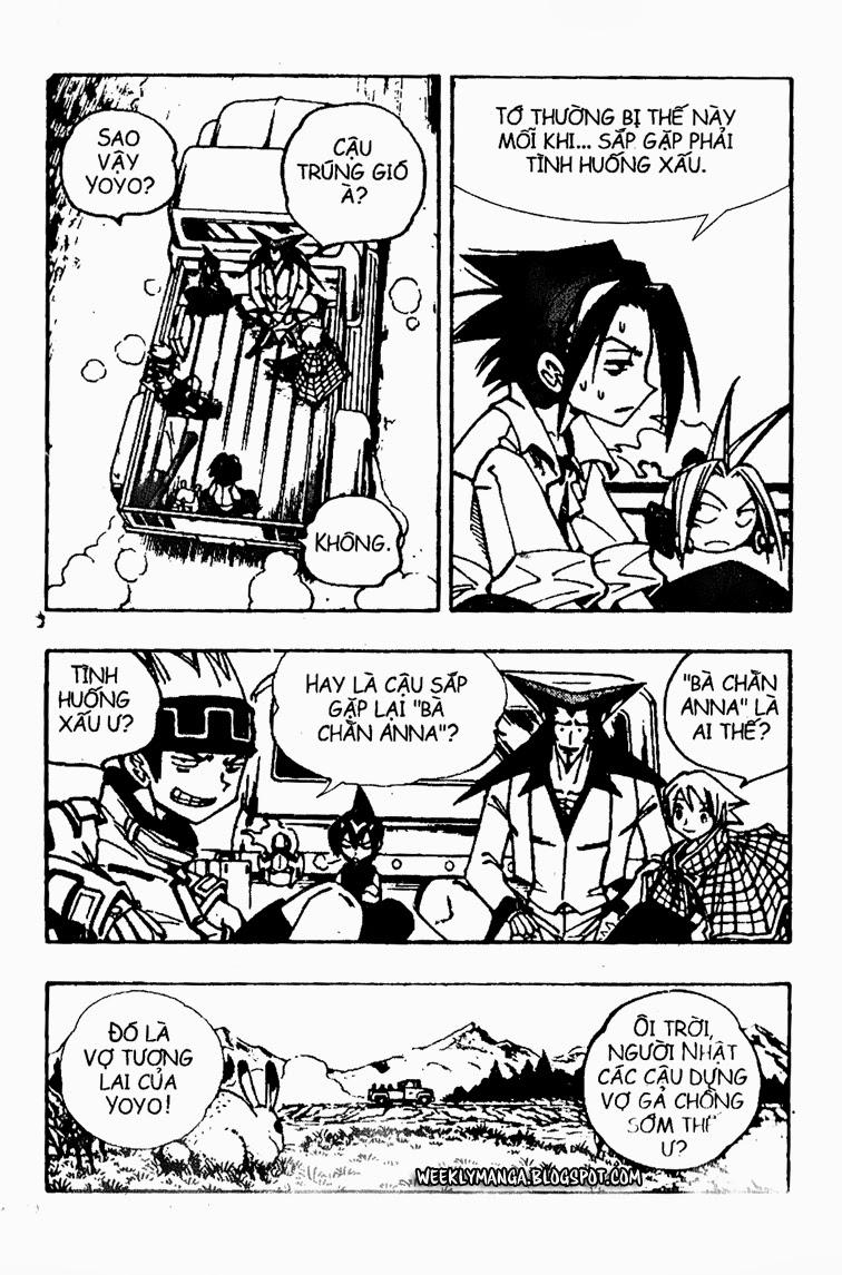 Shaman King [Vua pháp thuật] chap 91 trang 13