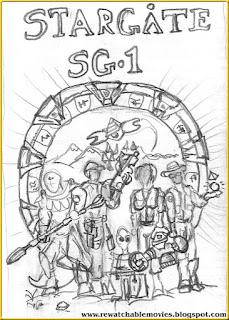 Stargate SG-1 Sketch Poster