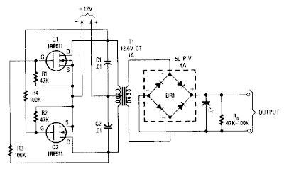 Wiring panel: Power Mosfet Inverter Circuit Diagram