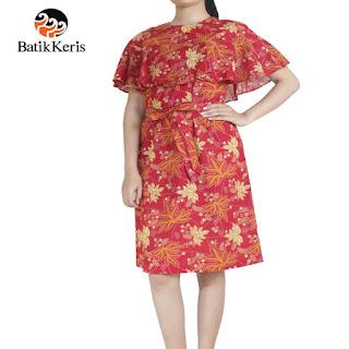 gambar model baju batik keris wanita