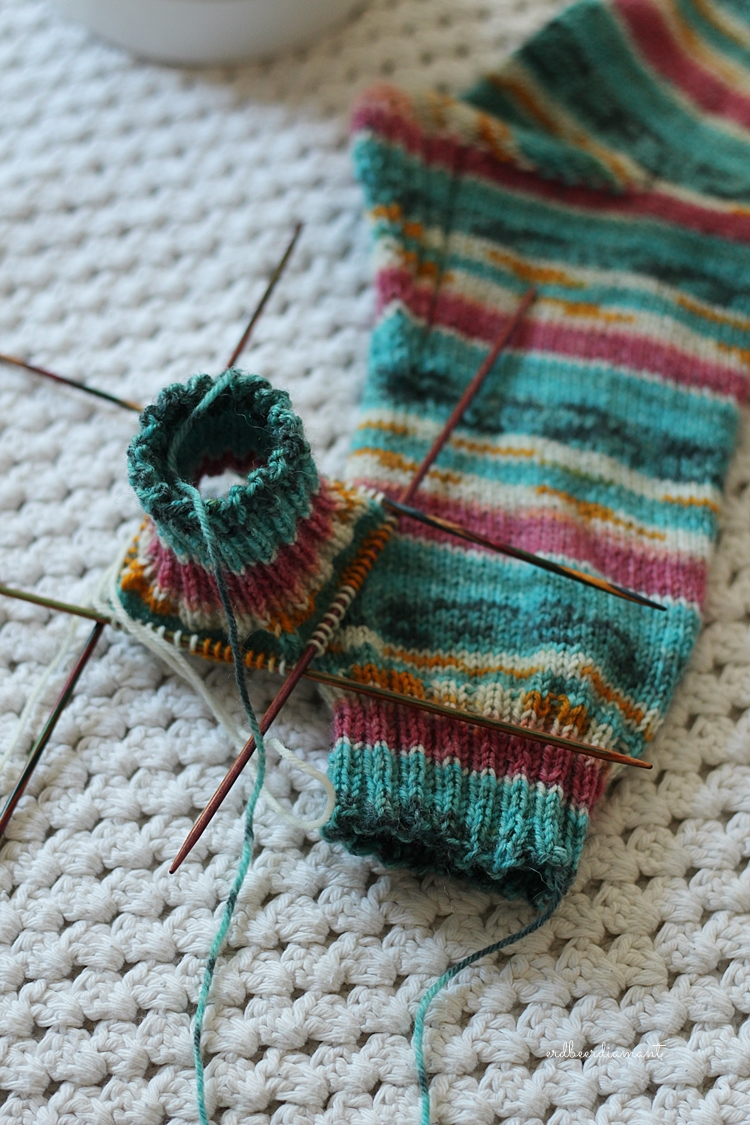 Opal | Ecuador Elly | Sockenglück | Sockenliebe