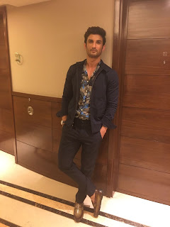 Spotted : Sushant Singh Rajput in Brune Shoes from Voganow