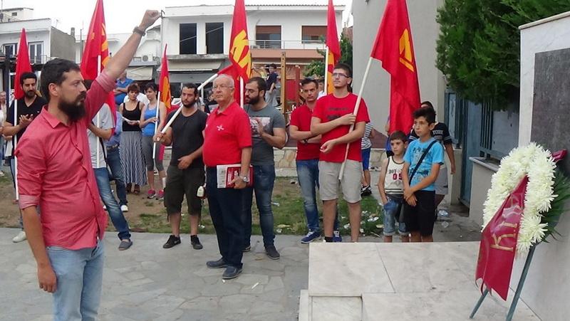 Εκδήλωση τιμής και μνήμης για τους αγωνιστές που εκτέλεσαν οι Ναζί στο Σουφλί