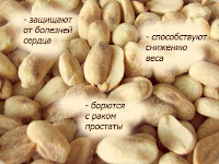 миндаль, арахис