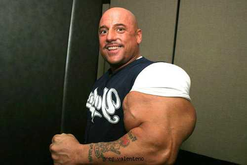 Biggest Biceps in the World: Gregg Valentino
