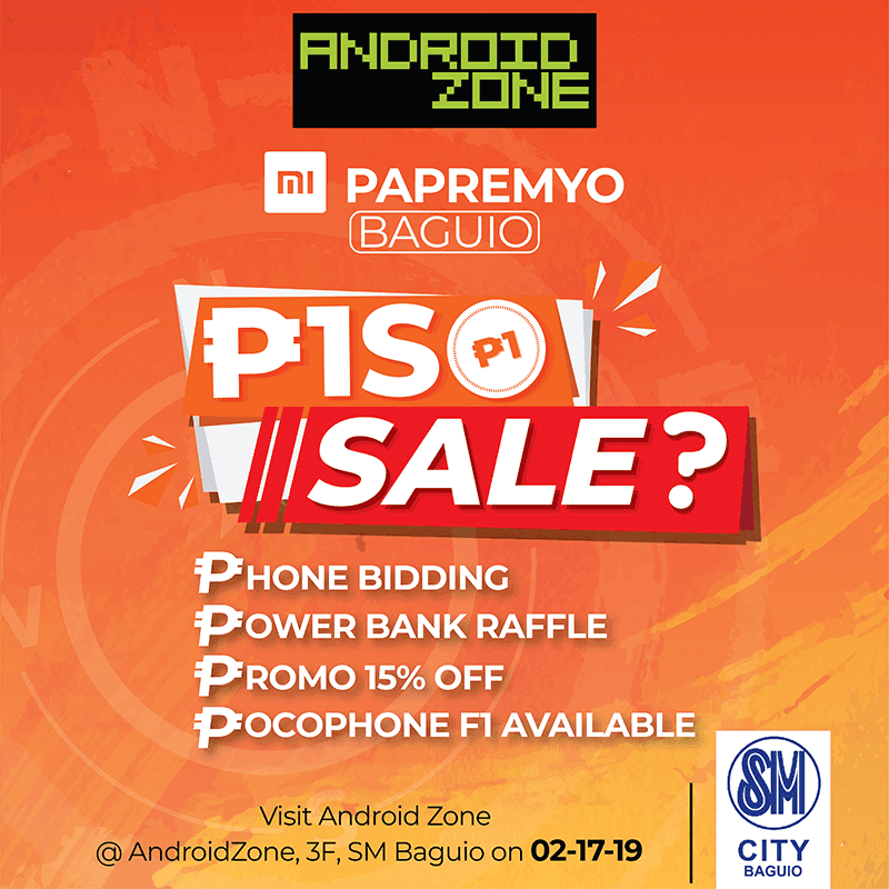 Sale Alert: Android Zone announces SM Baguio Xiaomi Piso sale!
