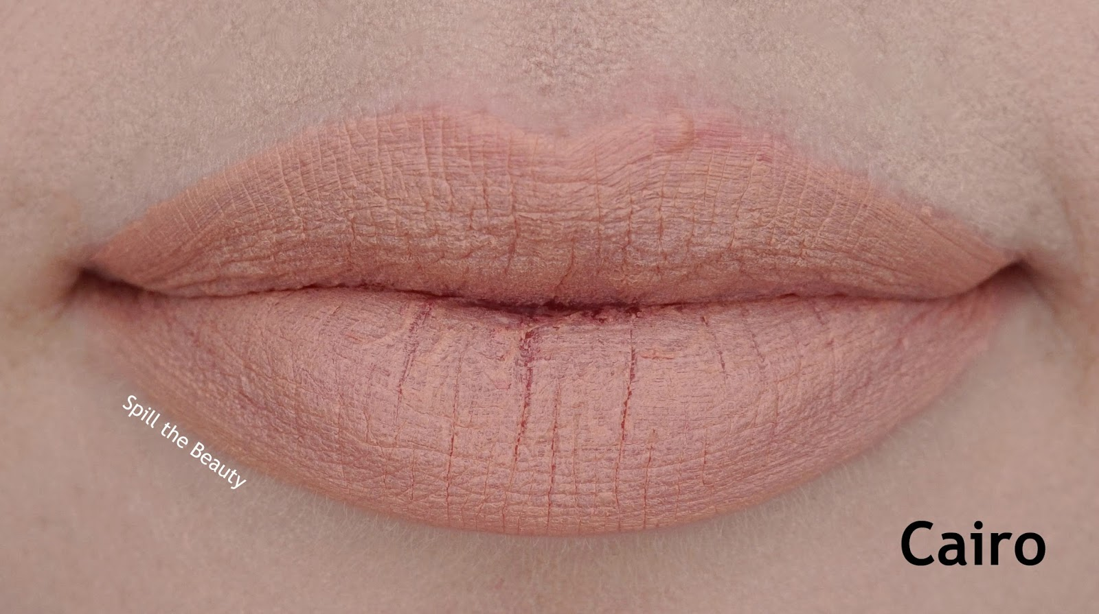 NYX Soft Matte Lip Cream 'Cairo' Review, and Swatches