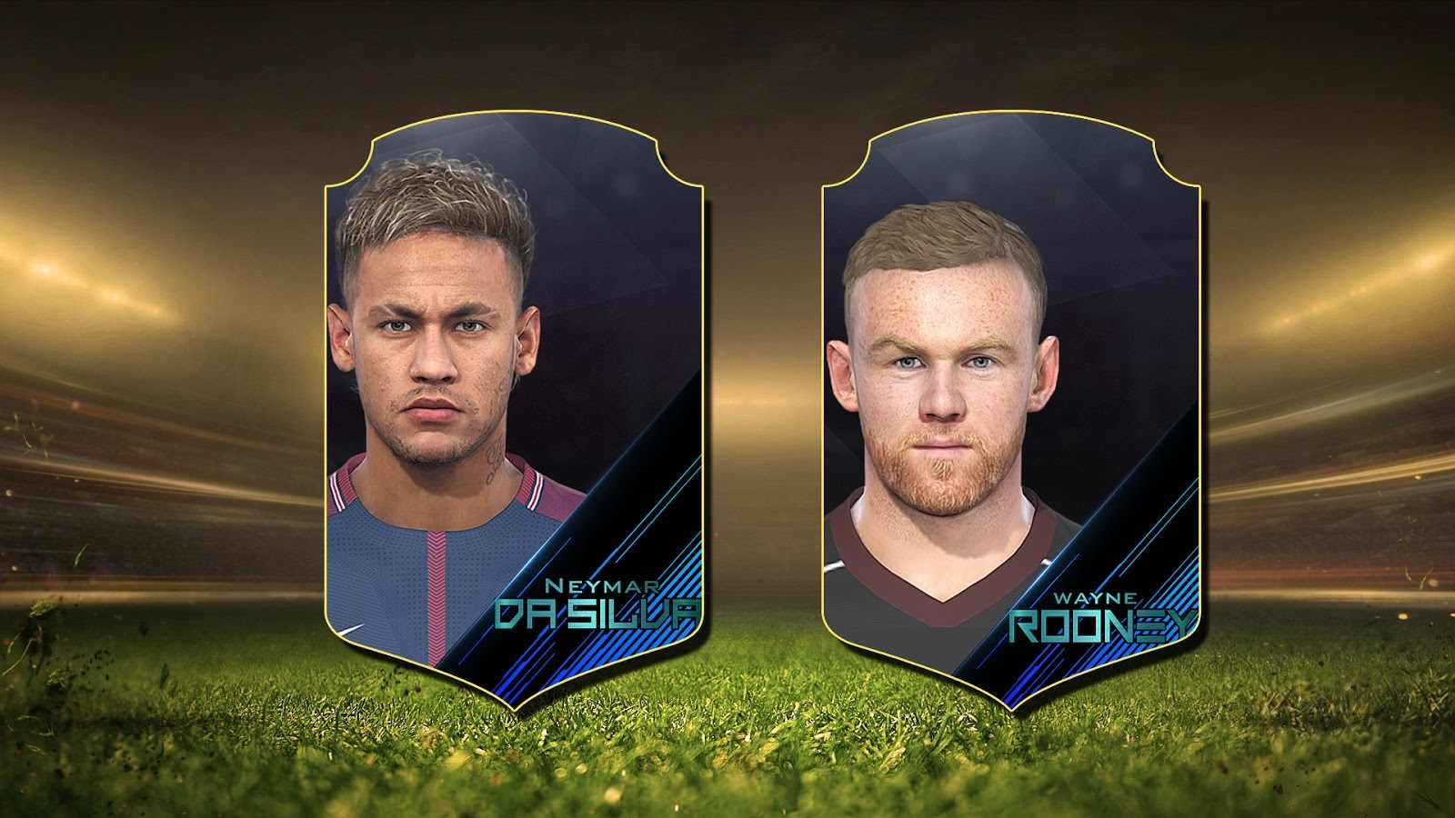 Ultigamerz PES 2018 Rooney And Neymar Faces