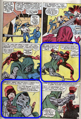 Battle of Baxter Building Doom Daredevil