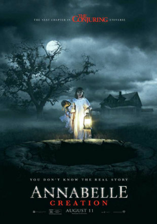 Annabelle: Creation 2017 Dual Audio BRRip 720p Hindi English