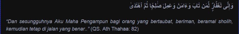 Beginilah Syarat-Syarat Agar Taubat Kita Diterima Allah SWT
