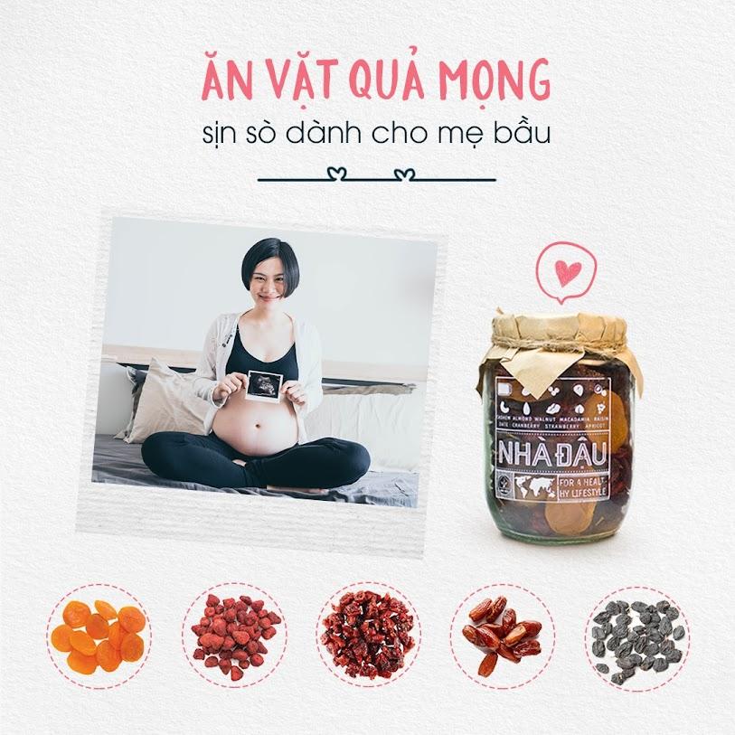 Thai kỳ khỏe mạnh với nguồn dưỡng chất dồi dào từ hạt dinh dưỡng