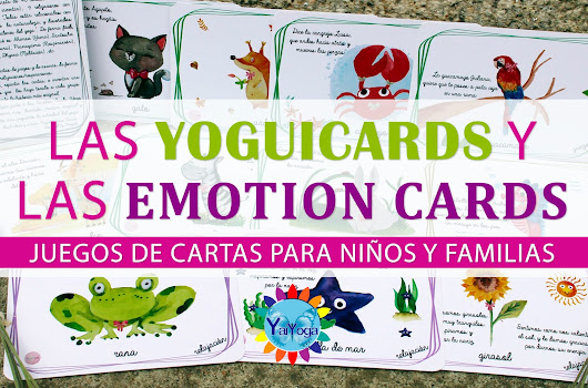 ¡SORTEO! Las yoguicards y las emotion cards