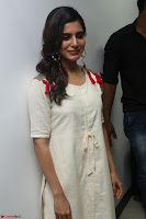 Samantha Ruth Prabhu Smiling Beauty in White Dress Launches VCare Clinic 15 June 2017 015.JPG