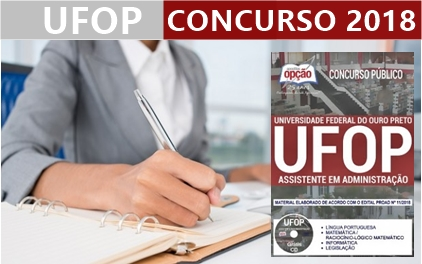 concurso-ufop-2018-universidade-federal-de-ouro-preto-mg