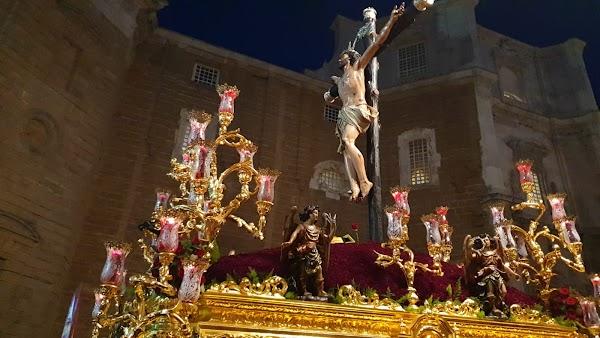 Horario y recorrido del regreso de los titulares de Expiración de Cádiz a Santa Catalina