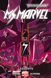 fuelled by fiction, fueled by fiction, book blog, book reviews, books, Ms Marvel, Ms. Marvel, kamala khan, marvel, carol danvers, captain marvel, comics