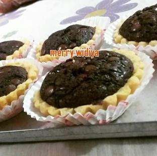 Resep Cara Membuat Kue Pie Brownies ala Bunda Merry Widia, resep kue pie, kue brownies mudah, cara membuat kue brownies sederhana