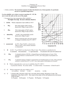 [PDF]solubility worksheet2 answers - solubility curve worksheet
