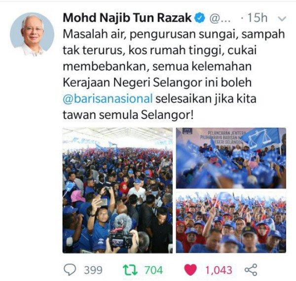 Kerajaan BN Yang Peduli Rakyat, Kerajaan DAP-PKR Hanya Membuli Rakyat Sahaja Di Selangor