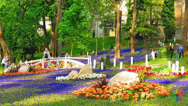 Praça Gülhane em Istambul na Turquia