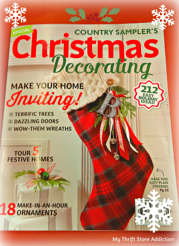 Feature Country Sampler Christmas Decorating