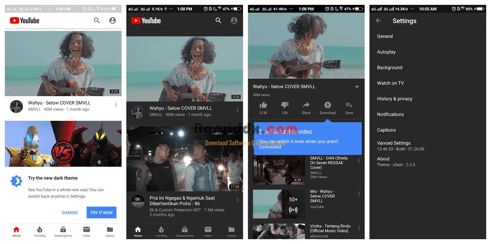 youtube mod tanpa iklan