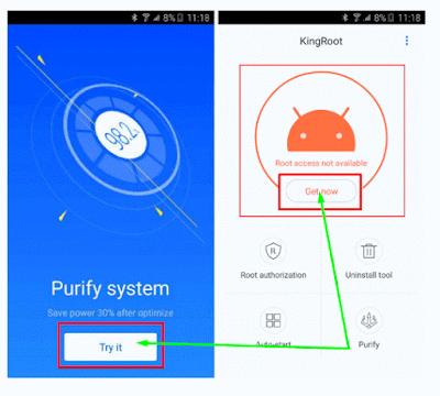Cara Root Android (Semua Seri) Menggunakan Aplikasi KingRoot Tanpa Komputer