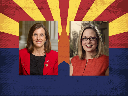 Why did McSally lose to Sinema in Arizona?