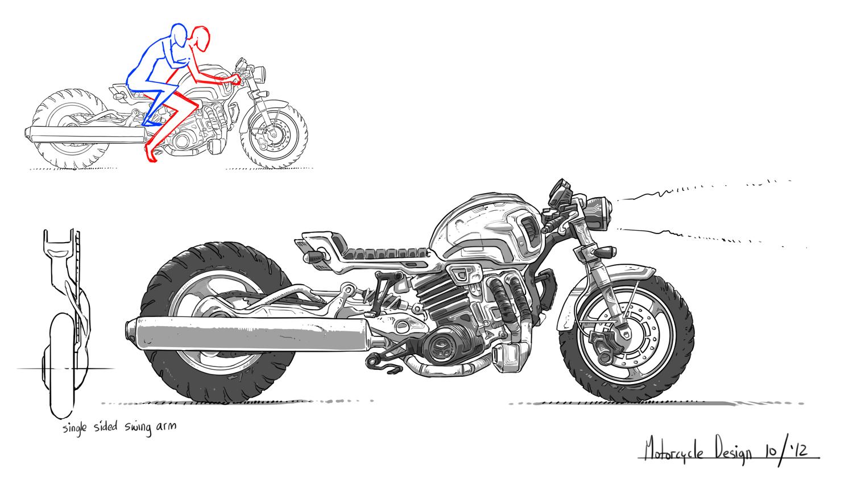 Atomic Motorcycle