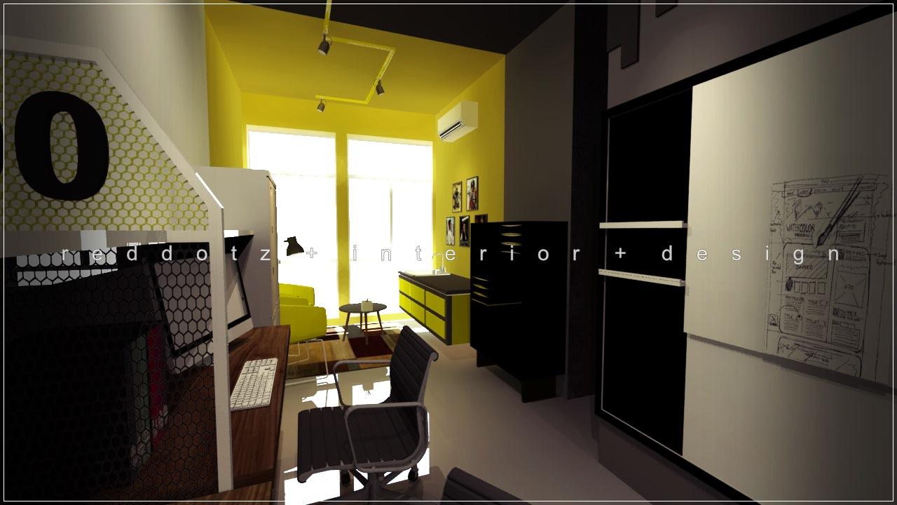 Reddotz interior design malaysia dua marhalah soho for Soho interior design ideas