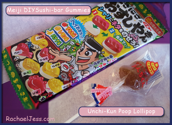 Kawaii Box Gummies and Lollipop