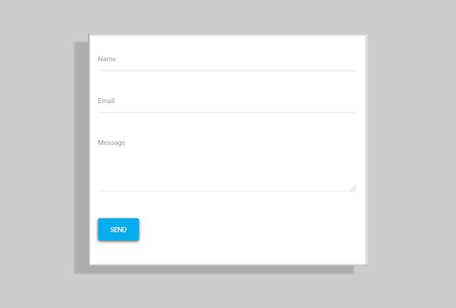 Cara Membuat Contact Form Material Design