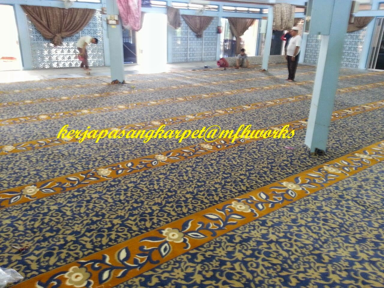 Feel The Uniqueness Pemasangan Karpet Masjid