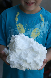 Image: Kitchen Craft: Soap Clouds! {And homemade kiddie tub soaps}
