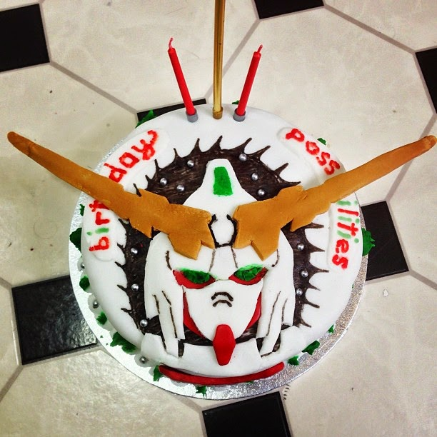 Adorable Gundam Cakes For Gundam Fan's Special Occasion