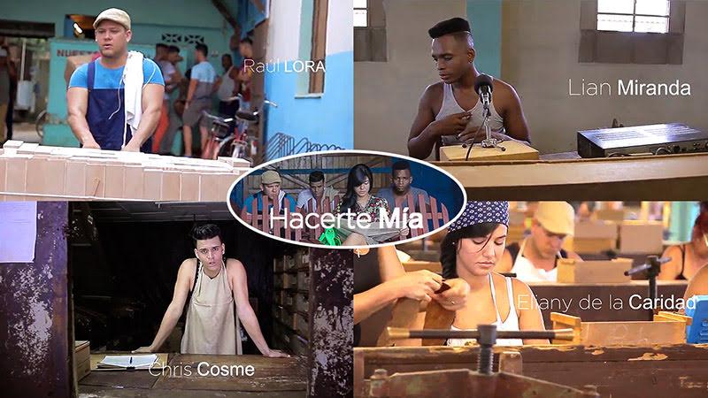 Raúl Lora & D´Cero & Christian Cosme & Lian Miranda - ¨Hacerte mía¨ - Videoclip - Director: Raúl Lora. Portal Del Vídeo Clip Cubano