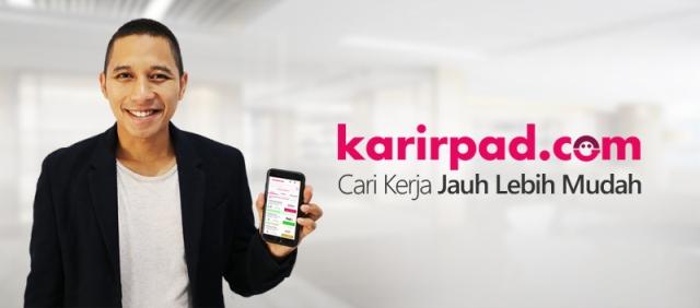 Karirpad, Job Portal Karya Anak Bangsa yang Mengurangi Angka Pengangguran di Indonesia