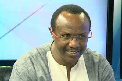 David Ndii at Nation Center. PHOTO | Courtesy NTV