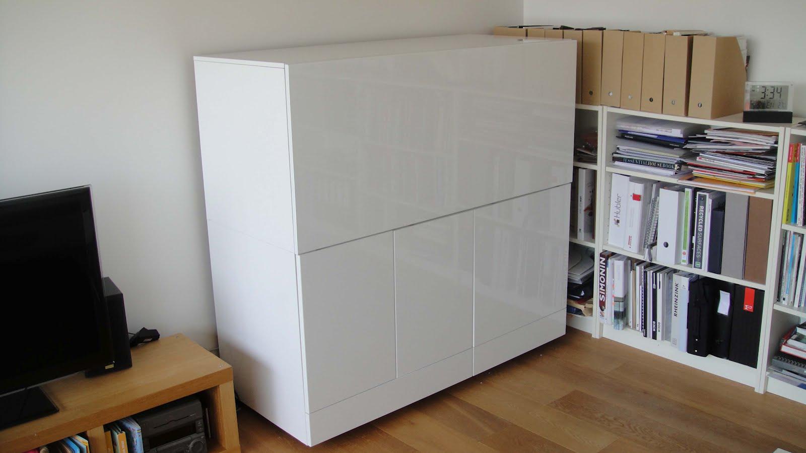 ikea hack mueble escritorio besta. Black Bedroom Furniture Sets. Home Design Ideas