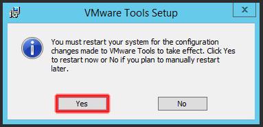 Instalar VMWare Tools - Restart.