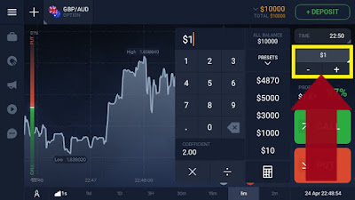 how to earn with iq option