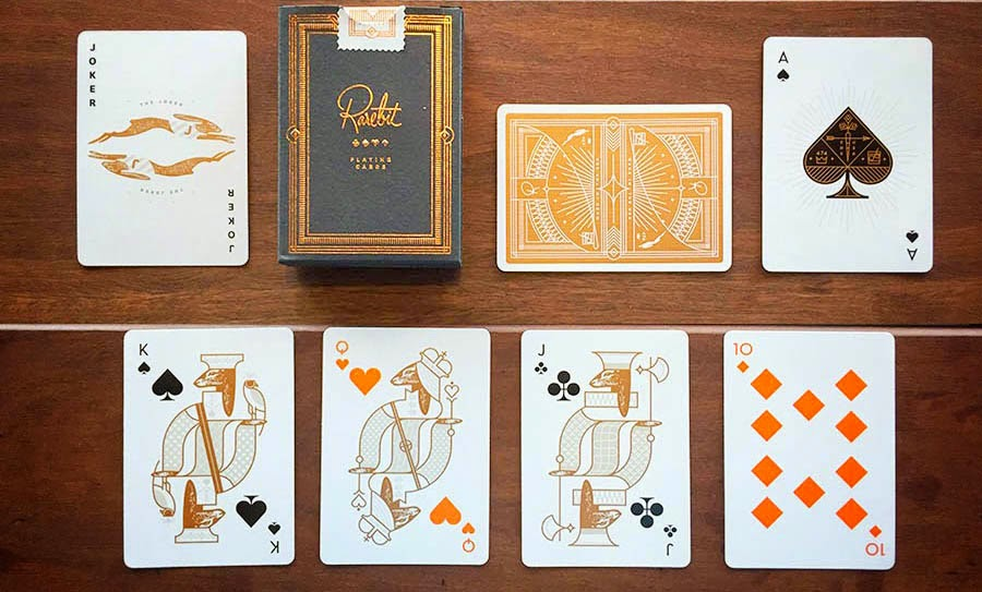 Rarebit Copper Theory11 Playing Cards