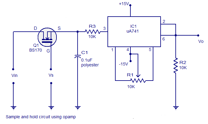 holding circuit diagram wiring schematic diagramsimple and hold circuit using op amp circuits diagram electronic circuits diagram sample and hold circuit
